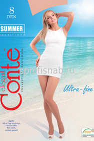 Колготки CONTE SUMMER 8den 5-XL